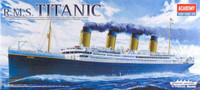 RMS Titanic w/Display Stand 1/700 Academy