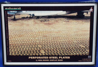 Assembled Runways (Perforated Steel Plates Display Base) (Plastic) 1/48  Eduard