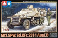 Mtl. SPW SdKfz 251/1 Ausf D Halftrack 1/48 Tamiya