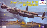 Avro Lancaster B.III Dambuster Bomber 1/144 A-Model