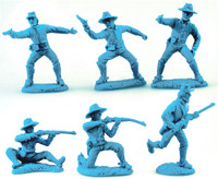 Civil War Union & Confederate Dismounted Cavalry Figure Playset (12) (Bagged) 1/32 TSSD