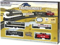 Thoroughbred Train Set Bachmann