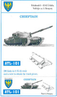 Chieftain Tank Track Link Set (200 Links) 1/35 Fruilmodel