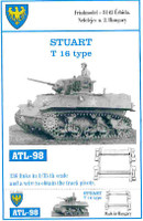 Stuart T16 Type Tank Track Link Set (136 Links) 1/35 Fruilmodel