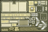 Chariot Photo-Etch & Decal Set for MOE 1/24 Paragraphics