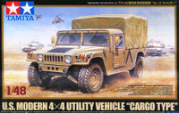US Modern 4x4 Utility Cargo Type 1/48  Vehicle Tamiya