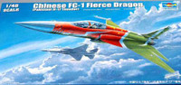 PLAAF FC1 Fierce Dragon (Pakistani JF17 Thunder) Fighter 1/48 Trumpeter
