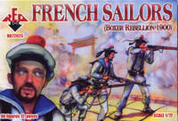 French Sailors Boxer Rebellion 1900 (48) 1/72 Red Box Figures