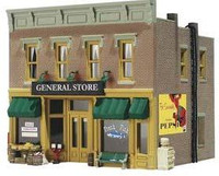 Built-N-Ready Lubener's General Store N Scale Woodland Scenics