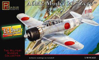 A6M2 Model 21 Zero Fighter (Snap Kit) 1/48 Pegasus