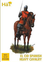 El Cid Spanish Heavy Cavalry (12 Mounted) 1/72 Hat