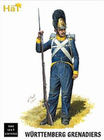 Napoleonic Wurttemberg Grenadiers (18) 1/32 Hat