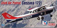 Cessna 172 Civilian Air Partol Aircraft 1/48 Minicraft