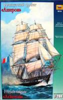 French Napoleonic Era Acheron Frigate 1/200 Zvezda