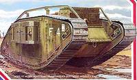 WWI British Female Mk IV Tank 1-35 Emhar