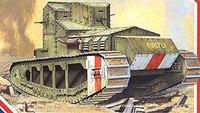 WWI British Whippet Mk IV Tank 1-35 Emhar