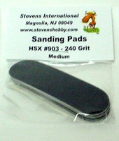 Medium Waterproof Sanding Pads for #901 240 Grit (6/Bag)