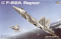 F-22A Raptor Fighter 1/144 Trumpeter