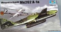 Messerschmitt Me262 A-1a German Fighter 1/144 Trumpeter