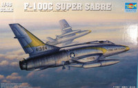 F-100C Super Sabre Fighter 1/48 Trumpeter