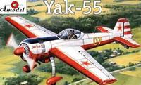 Yak-55 Soviet Aerobatic Aircraft 1/72 A-Model
