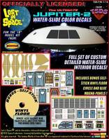 "Jupiter-2 Decals for 18"" Moebius Kit TSDS"