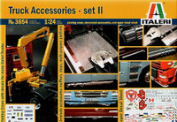 Truck Accessories Set II w/Pivoting Lifting Crane 1/24 Italeri