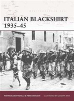 Warrior Italian Blackshirt 1935-1945 Osprey Books