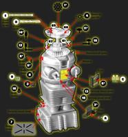 LiS Robot Photo-Etch & Decal Set for MOE 1/24 Paragrafix