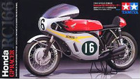 1966 Honda RC166 GP Racing Motorcycle 1/12 Tamiya