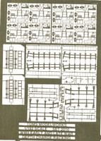 WWII US Destroyer & Destroyer Escort Depth Charge Racks Eary & Late War 1/192 Toms Modelworks