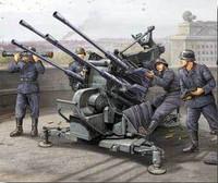 German 2cm Flak 38 Gun 1/35 Trumpeter