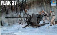 German 3.7cm Flak 37 Gun 1/35 Trumpeter