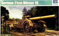German 21cm Morser 18 Heavy Artillery Gun 1/35 Trumpeter