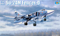 Sukhoi Su24M Fencer D Russian Attack Aircraft 1/48 Trumpeter