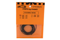 """4 ft. Hollow/Flexible Rubber Hose (Approx. Scale 1"""") 1/25 Parts by Parks"""