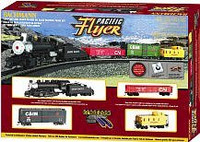Pacific Flyer Train Set Scale HO Scale Bachmann