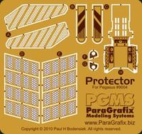 Galaxy Quest NSEA Protector Photo-Etch Set for PGH 1/1400 Paragrafix