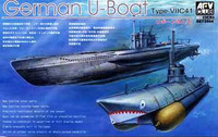 U-Boat Type VII C41 Submarine 1/350 AFV Club