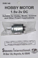 1.5 to 3v DC Small Electric Motor (Round Can)