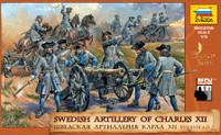 Swedish Artillery of Charles XII Century 1/72 Zvezda
