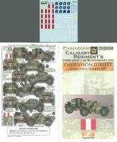 Canadian Calgary Rgt. Dingos Mk II Dieppe France 1-35 Echelon