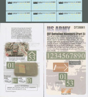 US Army OIF Battalion Numbers Pt.3 1-72 Echelon