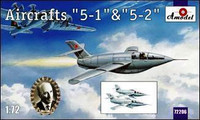 Bisnovat 5-1 & 5-2 Soviet Glider Aircraft 1/72 A-Model