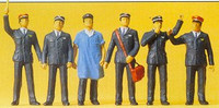 Swiss Railway Personnel (6) O Preiser Models