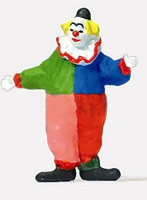 Clown Standing HO Preiser Models