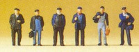 Industrial & Dock Workers (6) N Preiser Models