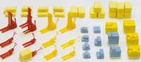 Forklifts, Lift Wagons & Cargo (Kit) N Preiser Models