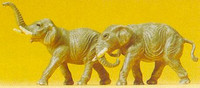 Elephants (2) N Preiser Models