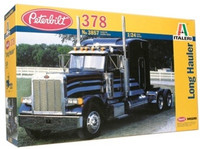 Peterbilt 378 Long Hauler Truck Cab with Sleeper 1/24 Italeri
